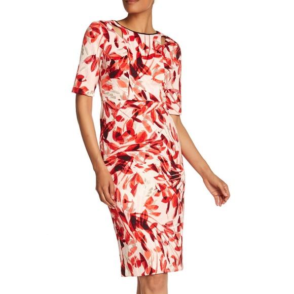 Maggy London Dresses & Skirts - Maggy London Textured Cutout Dress